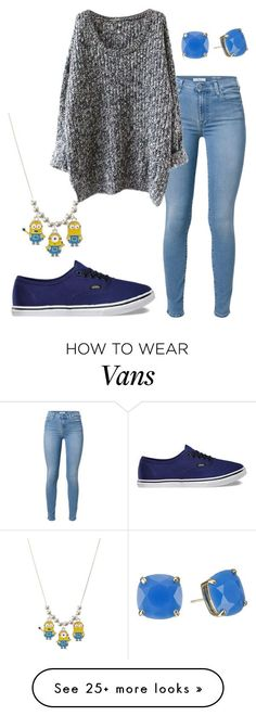 """WOW"" by vme27 on Polyvore featuring 7 For All Mankind, Vans and Kate Spade..."