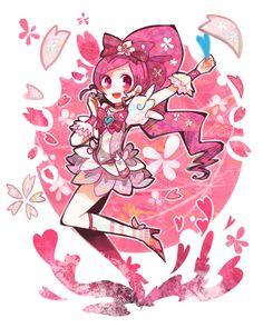 Cure Blossom fanart