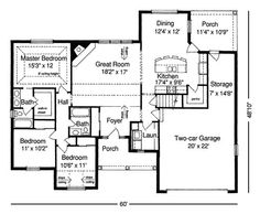 Architecture, Small Ranch House Plans: Inviting Small House: Roberta Ranch Home