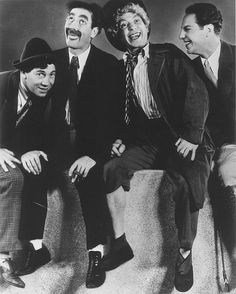 Groucho Marx, Chico Marx, Harpo Marx and Zeppo Marx in Animal Crackers