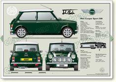 2000 Mini Cooper Sport 500
