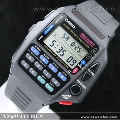 Be it general performance or looks, Casio Watches already have it all. Once you discover just what you're looking for, a little research on the net can help you get the best prices. Amazing Watches, Cool Watches, Watches For Men, Casio Databank, Casio Watch, Retro Watches, Vintage Watches, G Shock, Casio Vintage Watch