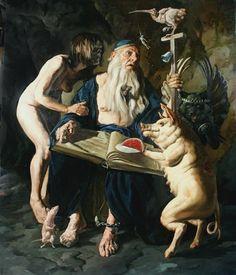 Temptation of St. Anthony by Erik Sandberg