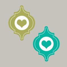 Freebie: Mosaik mit Herz