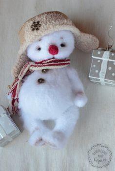 Снеговичок — Плюшевый мир Нерпы