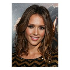 Medium curly hairstyles from Jessica Alba Hairstyleaa ❤ liked on Polyvore featuring hair, models, hairstyles, jessica alba and people