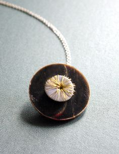 The ring that became a necklace! http://spoonfulofcolour.blogspot.com/2011/05/how-to-three-step-statement-ring.html