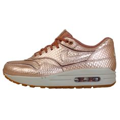 nike wmns air max 1 cut out prm bronze snake craft