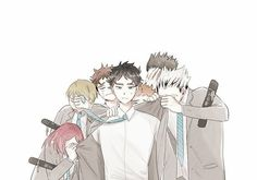 How dare they left Akaashi like that 😢 Bokuto X Akaashi, Iwaoi, Kuroken, Bokuaka, Kagehina, Haikyuu Ships, Haikyuu Fanart, Haikyuu Anime, Volleyball Anime