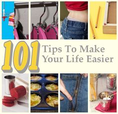 Tips, Tips, and More Tips.There are so many amazing hacks here!!