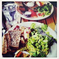 Emily Didonato, New York: Brunch, Café Orlin, East Village