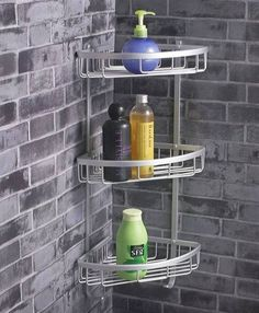 Stainless Steel Bathroom Shelving
