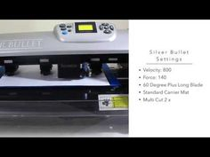 Cutting Magnet Canvas with the Silver Bullet Pro - YouTube