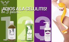 3 Soluciones para eliminar la celulitis 1.- EXFOLIA 2.- REDUCE AREAS QUE LAS DIETAS NO PUEDEN 3.- LOGRA FIRMEZA Y FUERZA RAPIDAMENTE
