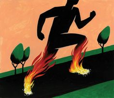 Some Runs, You Feel Like You're on Fire—in a Good Way
