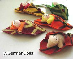 German leaf dolls