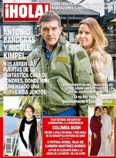 Antonio Banderas y su novia, Nicole, abren las puertas de su casa en Londres a ¡HOLA!. Conoce la espectacular residencia en donde la pareja ha comenzado su vida juntos.