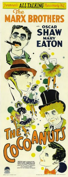 Movie Poster of the Week: The Marx Brothers in Posters on Notebook | MUBI
