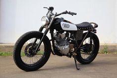 1980 Kawasaki KZ200 Brat Style – Wakai by GWS Custom #motorcycles #bratstyle #motos | caferacerpasion.com
