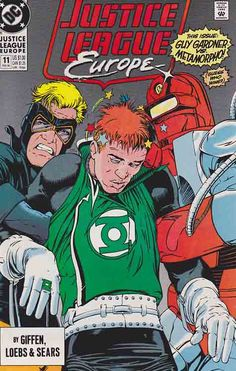 Justice League Europe Very Fine/Near Mint #11 Make A Comic Book, Comic Books For Sale, Dc Comic Books, Comic Book Covers, Comic Art, Justice League Pictures, Comic Book Publishers, Justice League Unlimited, Fun Comics