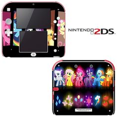 Amazon.com: My Little Pony Friendship is Magic Princess Decorative Video Game Decal Cover Skin Protector for Nintendo 2Ds: Video Games