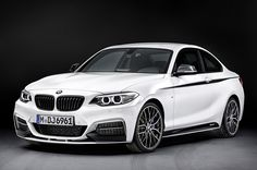 BMW 2 Series with M Performance parts