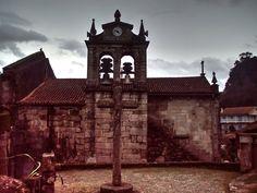 Boa noite :D Ermelo em Arcos de #Valdevez em dias de céu cinzento - http://ift.tt/1MZR1pw -