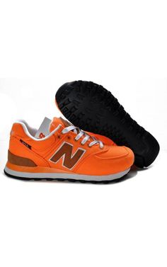 624d27a600 New Balance 574 Orange Brown Shoes For Women Online Sapatos New Balance