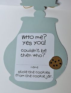 Who Stole The Cookie From The Cookie Jar Book Who Took The Cookie From The Cookie Jar Classbook For K3  Cookie