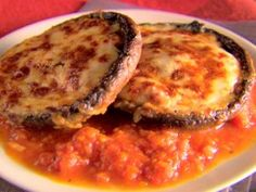 Mushroom Parmesan from CookingChannelTV.com