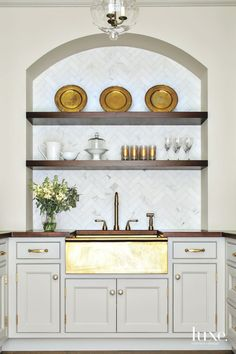 In the home's busiest spaces, luxury means ditching cookie-cutter style for highly custom looks that are brimming with one-of-a-kind panache.
