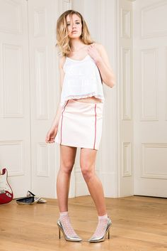 Graceland, Summer Collection, Cami, Leather Skirt, My Love, Skirts, Style, Fashion, Moda