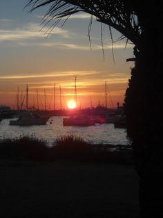 sunset, punta del este
