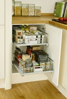 Internal Pull-Out Drawer - Storage Solutions - Accessories - Kitchen Collection - Howdens Joinery