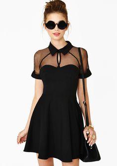 Little Black Dress. Black Contrast Transparent Sheer Mesh Hollow Dress. The top 10 best Little Black Dresses.