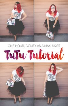 COMFORTABLE TUTU SEWING TUTORIAL DIY TULLE SKIRT FOR ADULTS