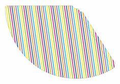 Cappellino righe colorate