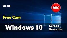 "Windows 10 Screen Recorder Free Cam We are looking for a free screen recorder application to be used with Windows 10 and today we are testing ""Free Cam"". Fast Browser, Free Screen Recorder, Windows 10"