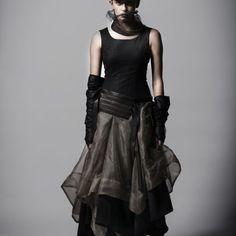 Styled organza dress