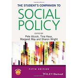 Student's Companion to Social Policy/Alcock/ HN 390 Alc