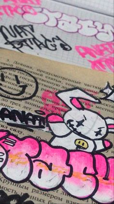 Graffiti Doodles, Graffiti Art, Graffiti Lettering Fonts, Mood Instagram, Hippie Art, Aesthetic Drawing, Photo Wall Collage, Art Sketchbook, Diy Art