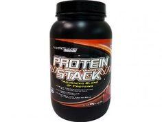 Protein Stack 909g Morango Performance Nutrition - Proteína Concentrada Isolada e Caseína