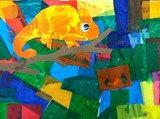 Artsonia Art Exhibit :: The Mixed-Up Chameleon