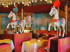 Hotel Negresco Nice Dining Room With Horses
