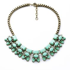 Flower statement necklace for women from bemodia