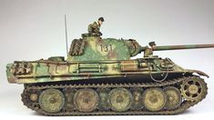 Military Action Figures, Model Tanks, Military Modelling, Steel Wheels, Big Bird, Toy Soldiers, Tamiya, World War Two, Scale Models