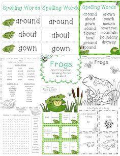 Frogs Reading Street Grade 2  http://www.teacherspayteachers.com/Product/Frogs-Reading-Street-Grade-2-1076188