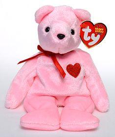 SMOOCH-e - Bear - Ty Beanie Babies