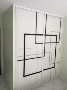 Master Bedroom Wardrobe Designs, Sliding Door Wardrobe Designs, Bedroom Cupboard Designs, Wardrobe Doors, Bedroom Designs, Bed Headboard Design, Bedroom Furniture Design, Bed Design, Study Table Designs