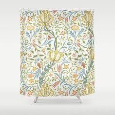Williammorris Shower Curtains | Society6